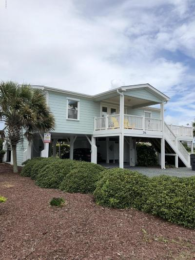 Holden Beach Single Family Home For Sale: 386 Ocean Boulevard W