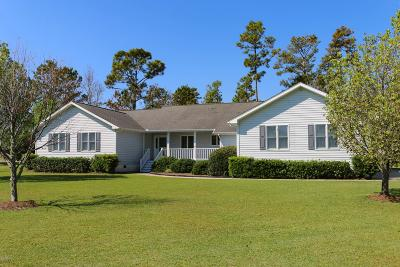 Beaufort NC Single Family Home For Sale: $330,000