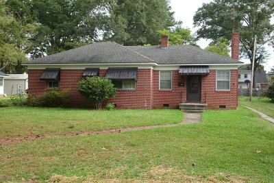 Edgecombe County Single Family Home For Sale: 1116 Tarboro Street