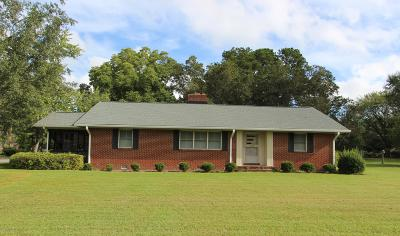 Edgecombe County Single Family Home For Sale: 2705 N Main Street