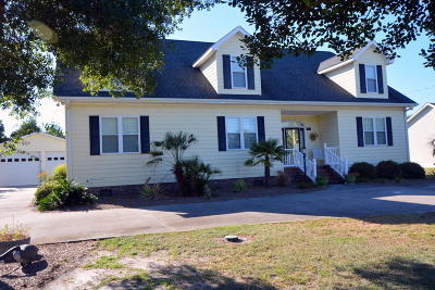 Harkers Island Single Family Home For Sale: 189 Davis Street