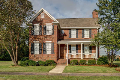 Rocky Mount Single Family Home For Sale: 88 Eltham