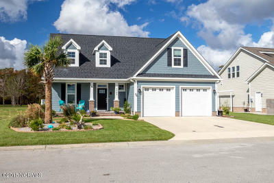 Morehead City Single Family Home For Sale: 1721 Olde Farm Road