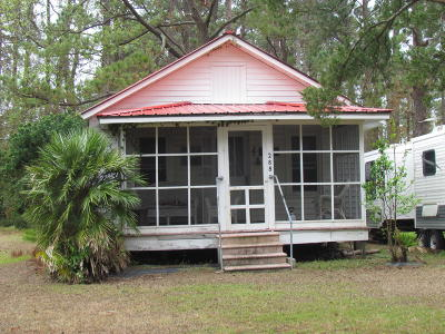 Sea Level NC Single Family Home For Sale: $49,900