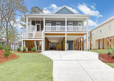 Oak Island Single Family Home Active Contingent: 156 NE 19th Street
