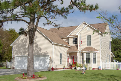 Swansboro Single Family Home For Sale: 319 Silver Creek Landing Road