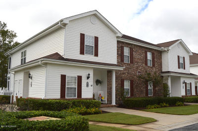 Brunswick Plantation Condo/Townhouse For Sale: 8855 Radcliff Drive NW #11c