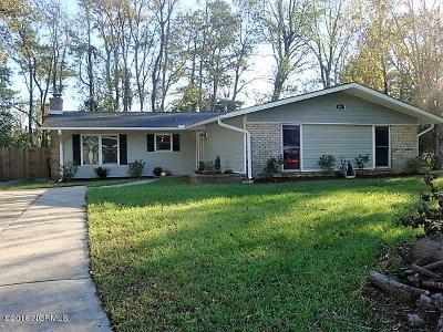 Jacksonville Single Family Home For Sale: 407 Shamrock Drive