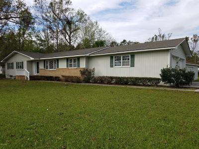 Jacksonville Rental For Rent: 703 Jim Blake Road