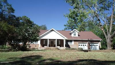 Southport Single Family Home For Sale: 1011 Captain Adkins Drive
