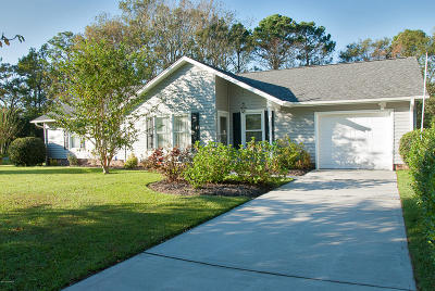 Morehead City Single Family Home For Sale: 3629 E Hedrick Drive