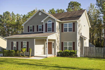 Jacksonville Single Family Home For Sale: 112 Sparkling Brook Way