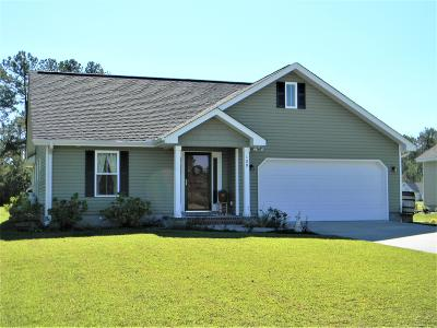 Swansboro Single Family Home For Sale: 109 Holland Farm Road