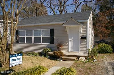 Greenville Rental For Rent: 107 S Jarvis Street