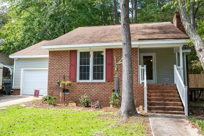 Greenville Single Family Home For Sale: 1002 River Hill Drive