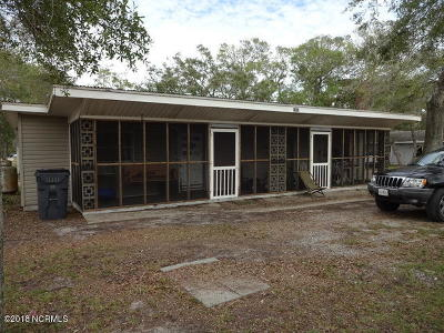 Oak Island NC Multi Family Home For Sale: $215,000