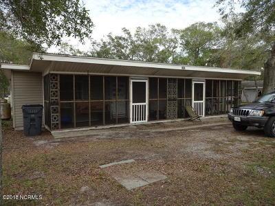 Oak Island Multi Family Home For Sale: 1902 E Oak Island Drive