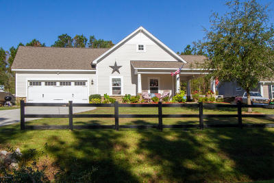 Holly Ridge Single Family Home For Sale: 406 Hardison Road
