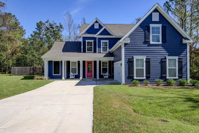 Hampstead Single Family Home For Sale: 505 Weir Drive