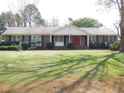 Wilmington Single Family Home For Sale: 234 Tanbridge Road
