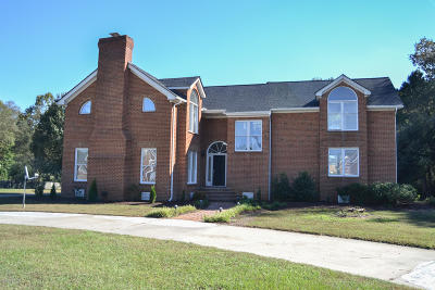 Rocky Mount Single Family Home For Sale: 2012 Joelene Drive