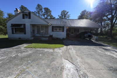 Onslow County Single Family Home For Sale: 601 Kinston Highway