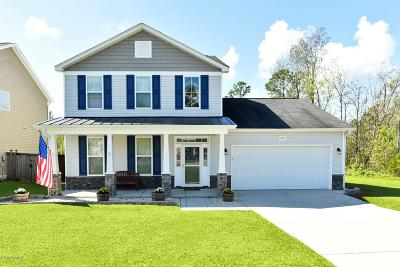 Sneads Ferry Single Family Home For Sale: 227 Peggys Trace
