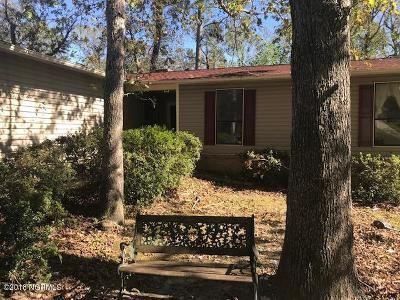 Jacksonville Single Family Home Active Contingent: 106 Shadow Brook Drive