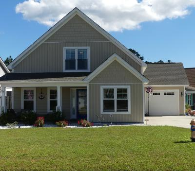 Southport Single Family Home For Sale: 4425 Maritime Oak Drive