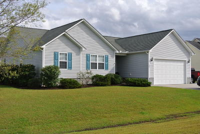 Beaufort Single Family Home For Sale: 101 Anglers Way