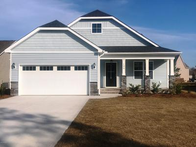 Sneads Ferry Single Family Home For Sale: 106 Precott Circle