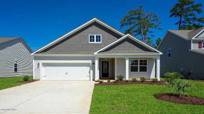 Carolina Shores Single Family Home For Sale: 144 Calabash Lakes Boulevard #1704 Lit