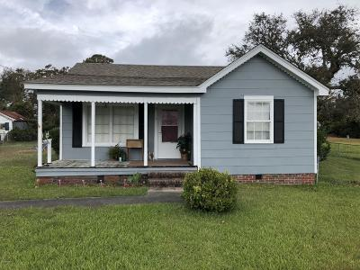 Harkers Island Single Family Home For Sale: 1091 Island Road