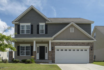 New Bern Single Family Home For Sale: 203 Quincy Court