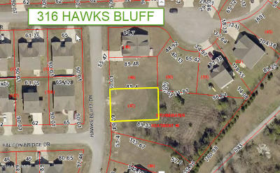 New Bern Residential Lots & Land For Sale: 316 Hawks Bluff Drive