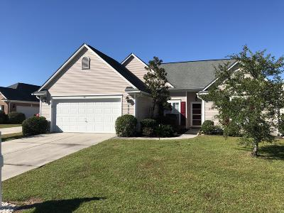 Calabash Single Family Home For Sale: 890 Willow Walk