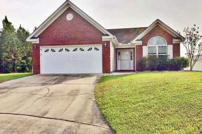 New Bern Single Family Home For Sale: 112 Jubilee Place