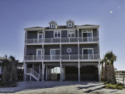 Holden Beach Single Family Home Pending: 116 Ocean Boulevard E