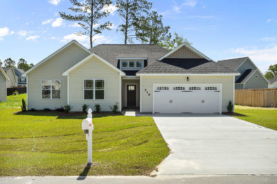 Jacksonville Single Family Home For Sale: 308 Adobe Lane