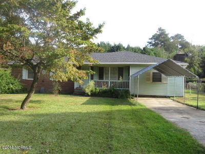 Edgecombe County Single Family Home For Sale: 458 Fishing Creek Road