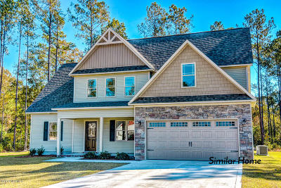 Sneads Ferry Single Family Home For Sale: 304 Channel Run Lane