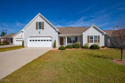 Holly Ridge Single Family Home For Sale: 412 Tree Court