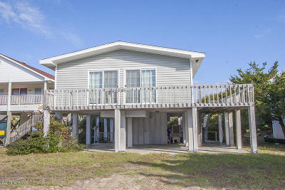Oak Island Single Family Home For Sale: 1626 E Beach Drive