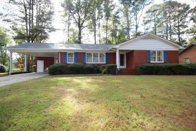 Greenville Single Family Home For Sale: 1710 Englewood Drive