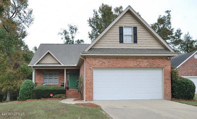 Rocky Mount NC Single Family Home Active Contingent: $198,900