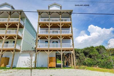 North Topsail Beach, Surf City, Topsail Beach Single Family Home For Sale: 1421 S Shore Drive