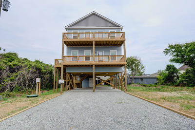 North Topsail Beach, Surf City, Topsail Beach Single Family Home For Sale: 7510 9th Avenue