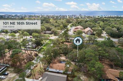 Oak Island NC Single Family Home For Sale: $350,000