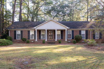 Greenville NC Single Family Home Active Contingent: $155,900