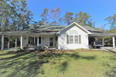 New Bern Single Family Home For Sale: 505 Stately Pines Road